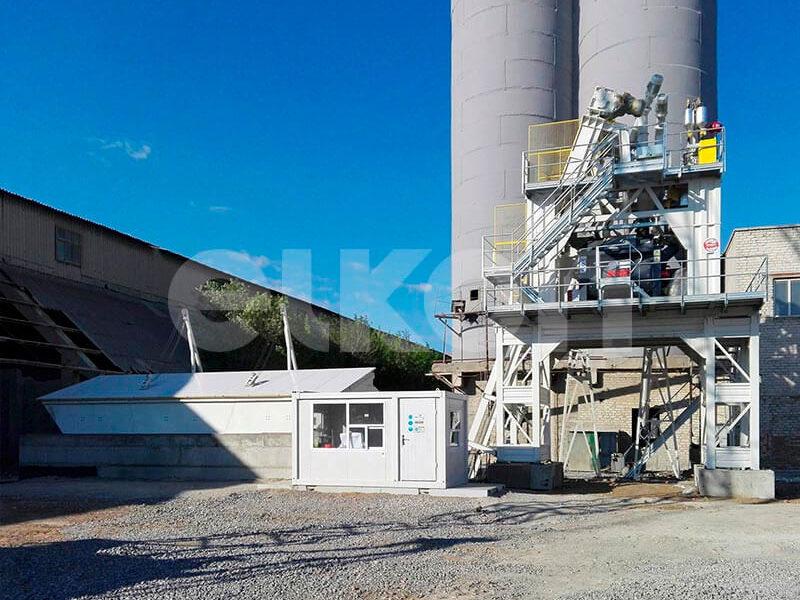 Стационарный бетонный завод ELKOMIX-120 (фото 13)