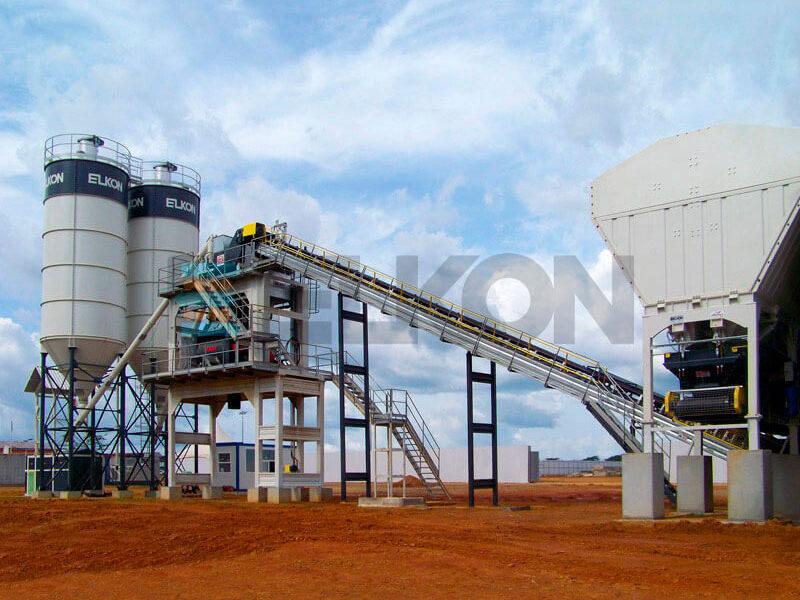 Стационарный бетонный завод ELKOMIX-120 (фото 14)