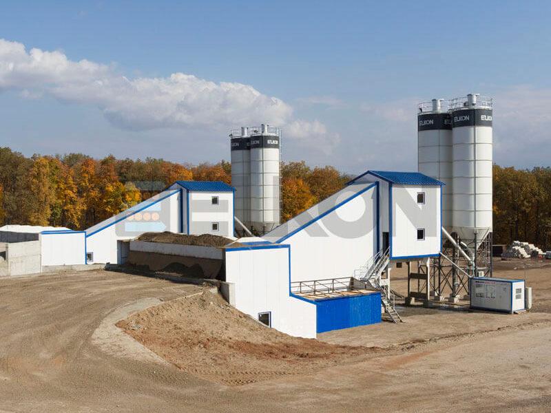 Стационарный бетонный завод ELKOMIX-120 (фото 15)