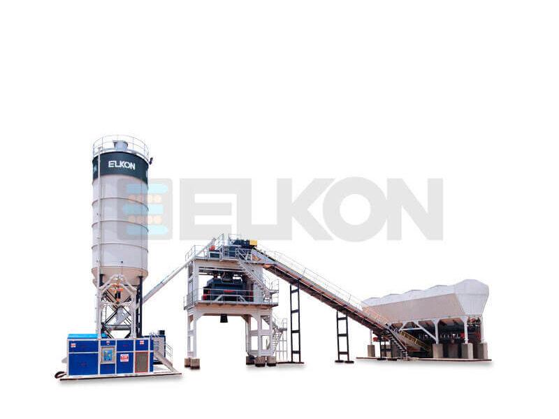 Стационарный бетонный завод ELKOMIX-120 (фото 16)