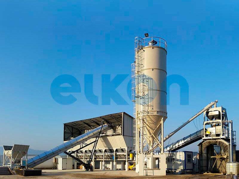 Стационарный бетонный завод ELKOMIX-120 (фото 3)