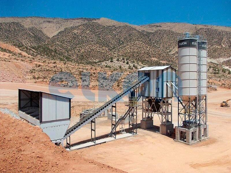Стационарный бетонный завод ELKOMIX-120 (фото 5)