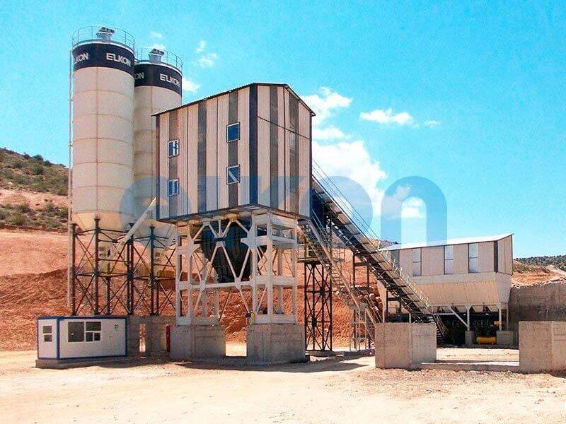 Стационарный бетонный завод ELKOMIX-120 (фото 6)