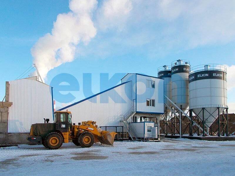 Стационарный бетонный завод ELKOMIX-120 (фото 7)