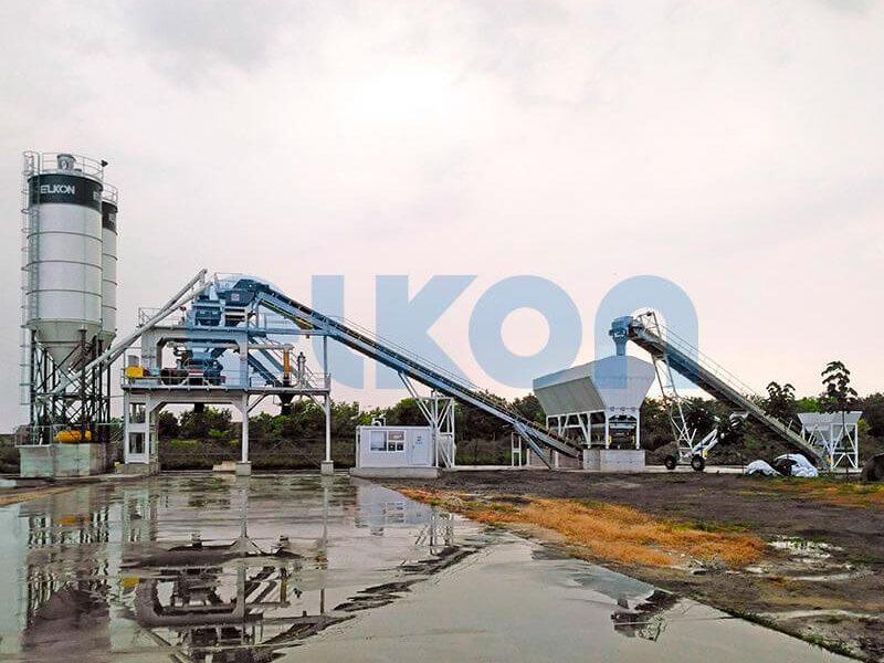 Стационарный бетонный завод ELKOMIX-120 (фото 8)