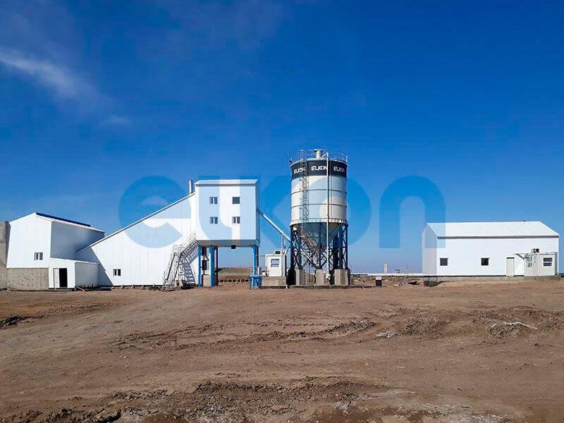 Стационарный бетонный завод ELKOMIX-120 (фото 9)