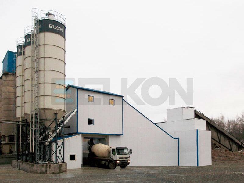 Стационарный бетонный завод ELKOMIX-180 (фото 10)