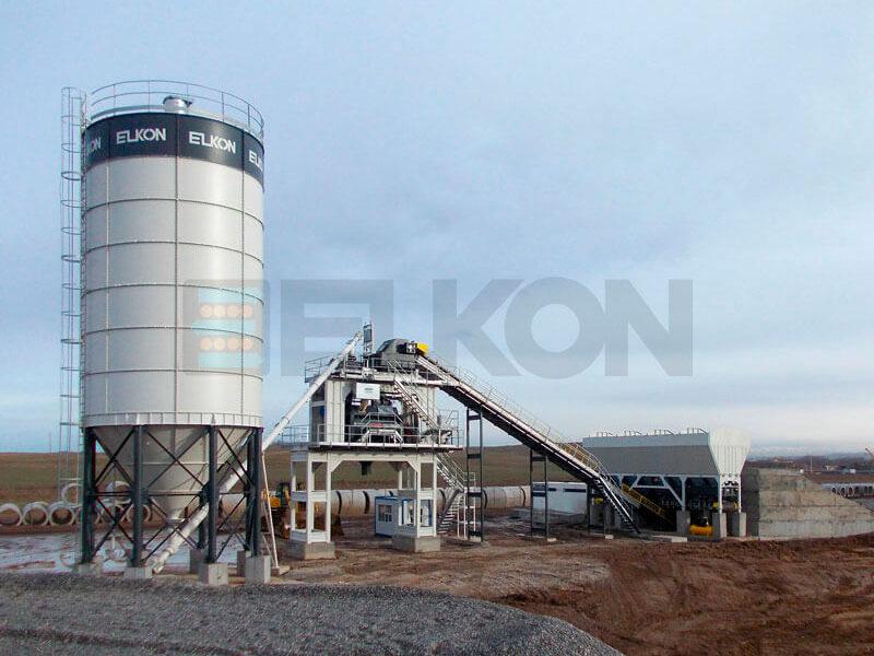Стационарный бетонный завод ELKOMIX-180 (фото 11)