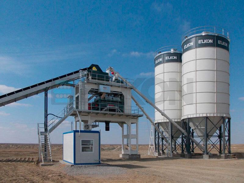 Стационарный бетонный завод ELKOMIX-180 (фото 12)