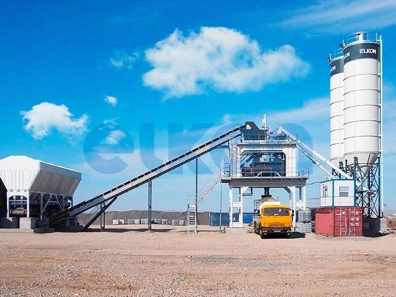Стационарный бетонный завод ELKOMIX-180 (фото 2)
