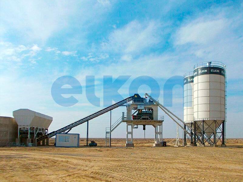 Стационарный бетонный завод ELKOMIX-180 (фото 3)