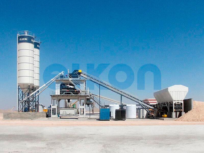 Стационарный бетонный завод ELKOMIX-180 (фото 5)