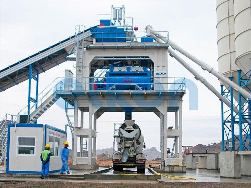 Стационарный бетонный завод ELKOMIX-180 (фото 6)
