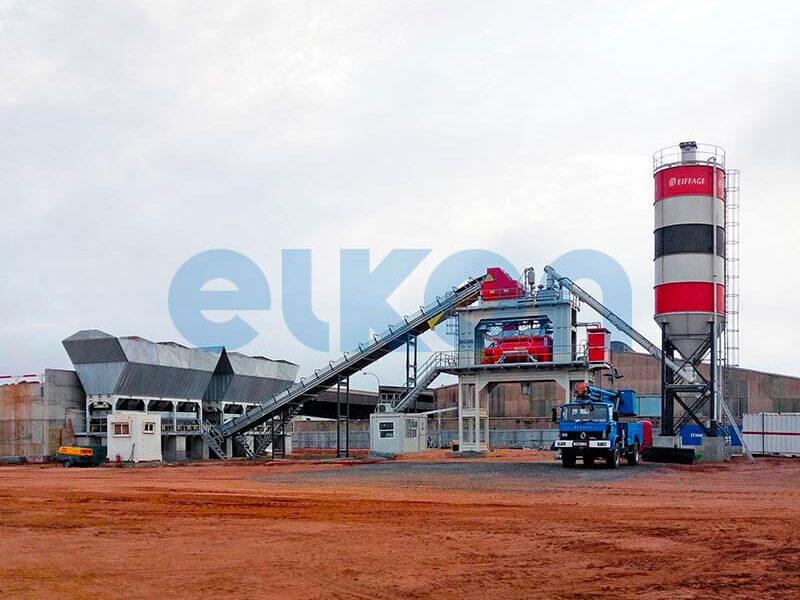 Стационарный бетонный завод ELKOMIX-180 (фото 7)