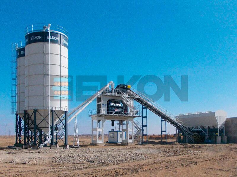 Стационарный бетонный завод ELKOMIX-180 (фото 8)