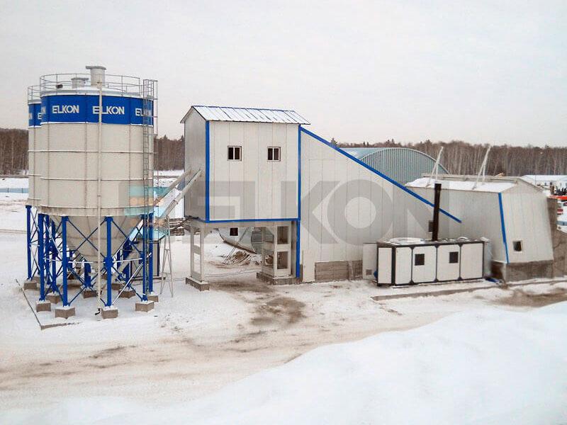 Стационарный бетонный завод ELKOMIX-180 (фото 9)