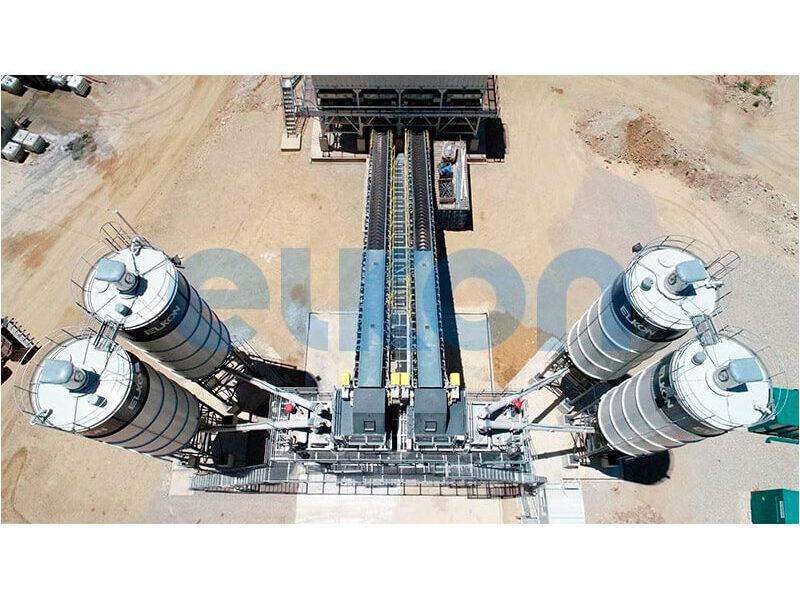 Стационарный бетонный завод ELKOMIX-200 (фото 10)