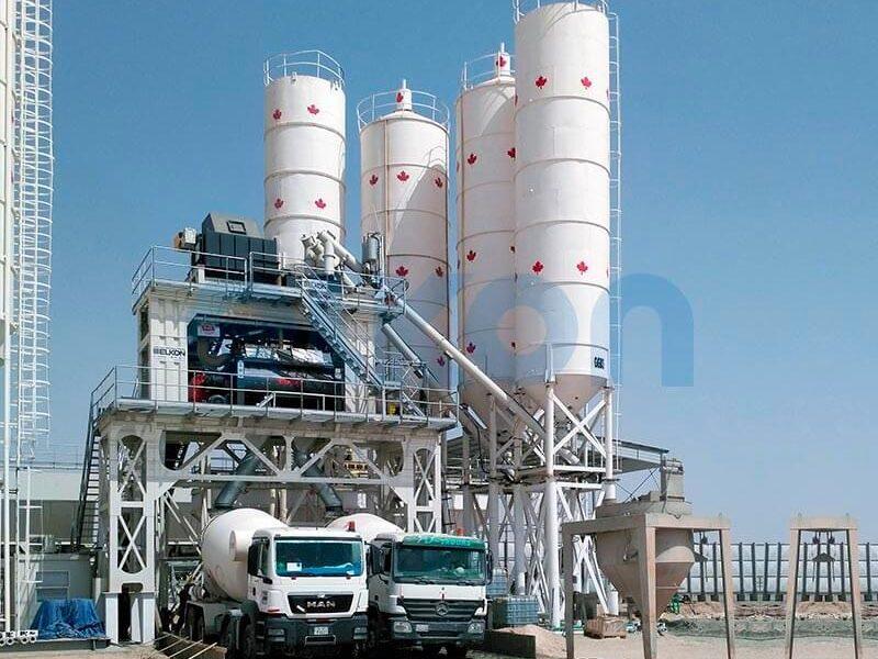 Стационарный бетонный завод ELKOMIX-200 (фото 3)