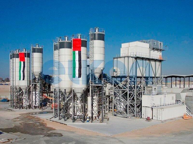 Стационарный бетонный завод ELKOMIX-200 (фото 5)