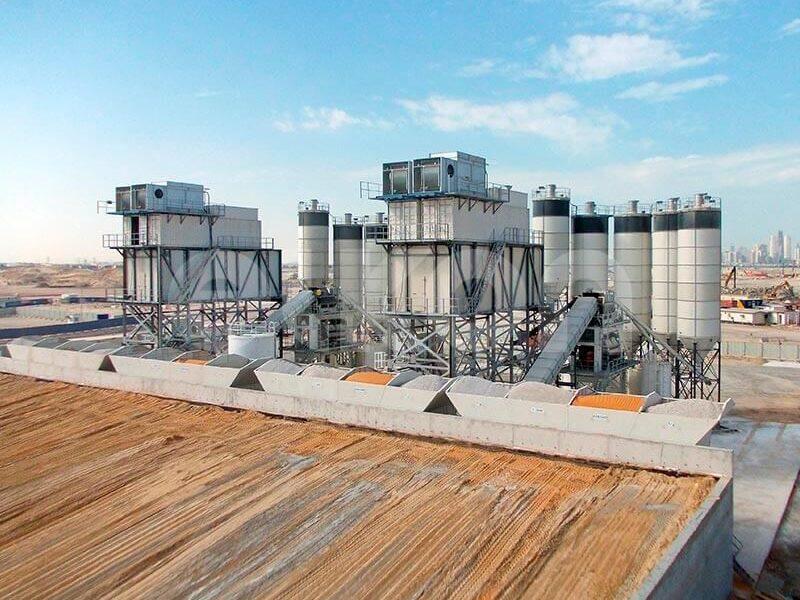 Стационарный бетонный завод ELKOMIX-200 (фото 6)