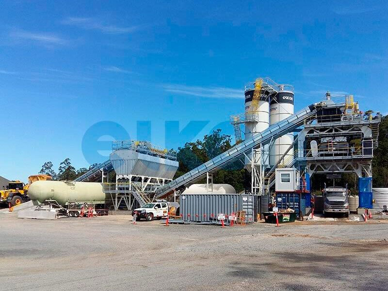 Стационарный бетонный завод ELKOMIX-240 (фото 1)