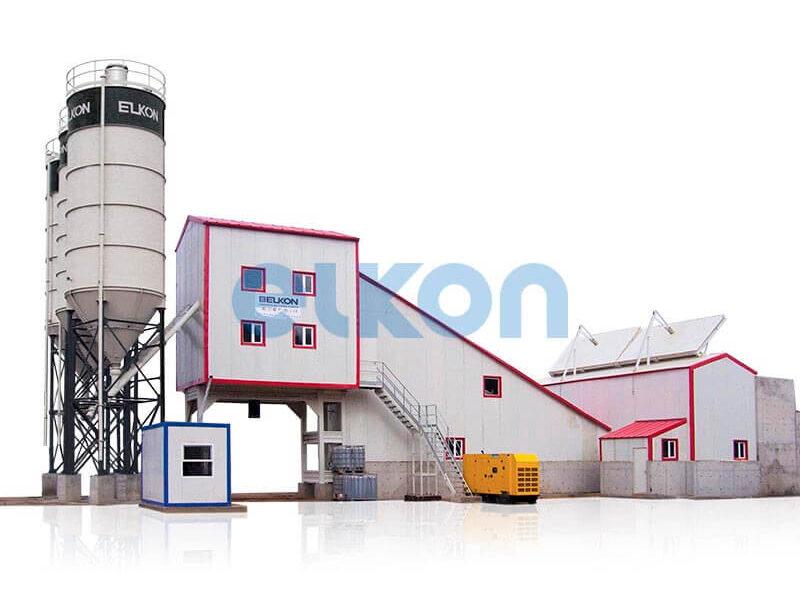 Стационарный бетонный завод ELKOMIX-240 (фото 4)
