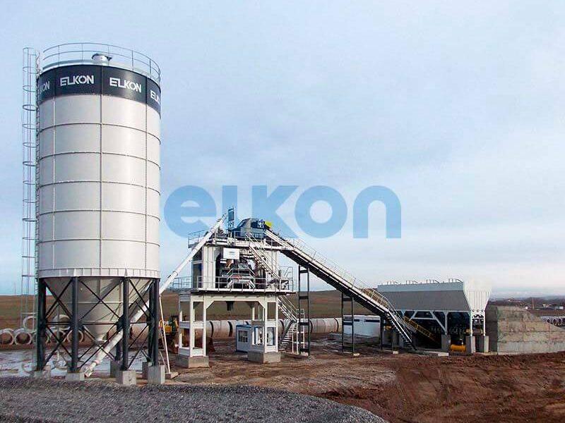 Стационарный бетонный завод ELKOMIX-240 (фото 5)